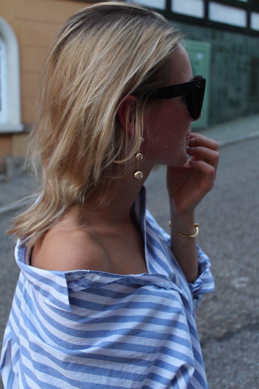 goldene Ohrringe H&M