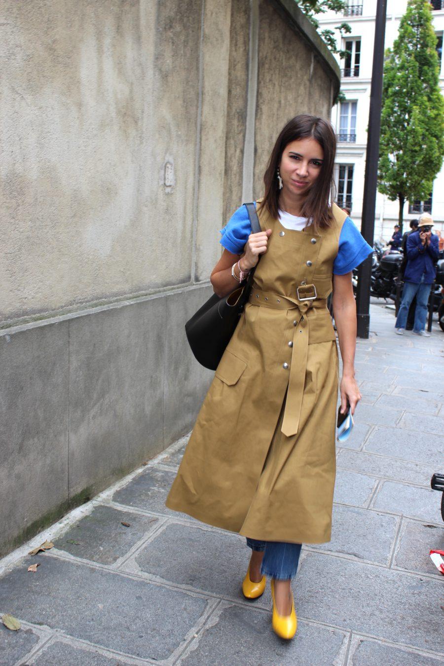 Natasha Goldenberg paris streetstyle