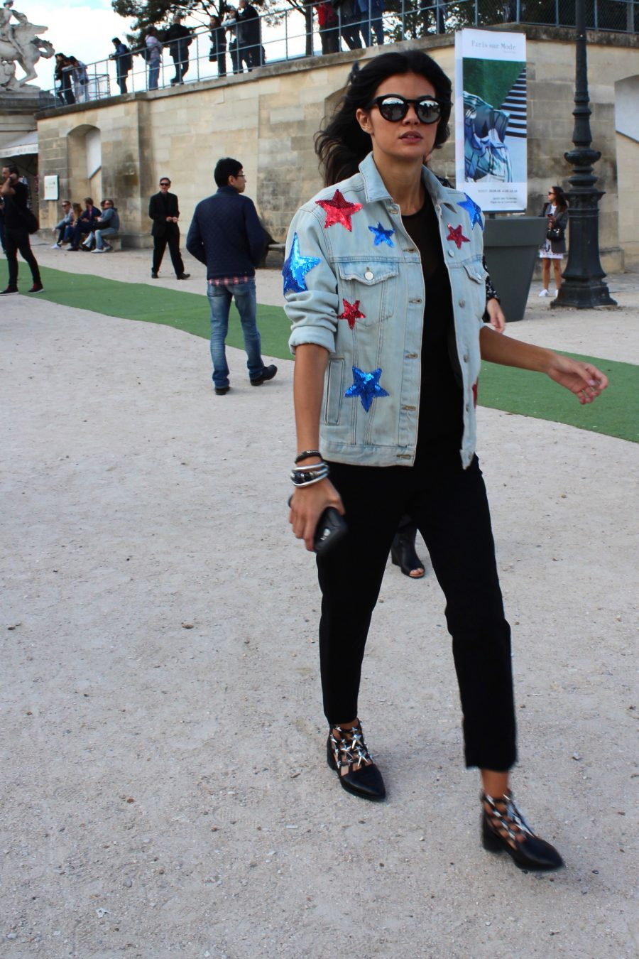 Streetstyle Paris Fashion Week 2017 Spring/Summer 2017