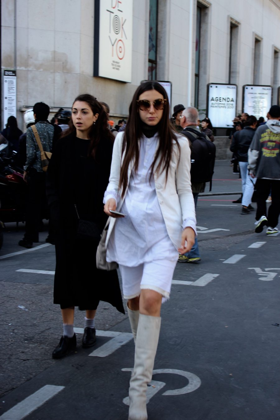 Streetstyle Paris Fashion Week, Sakai