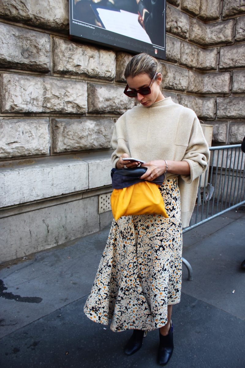Irina Lakicevic Streetstyle Fashion Week