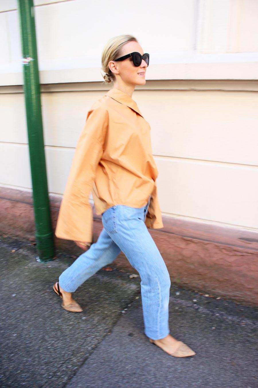 Zara Join Life peach top
