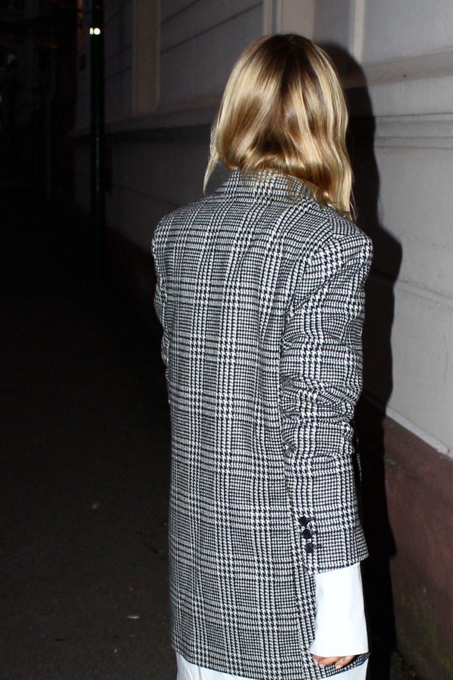 karierter Blazer H&M trend