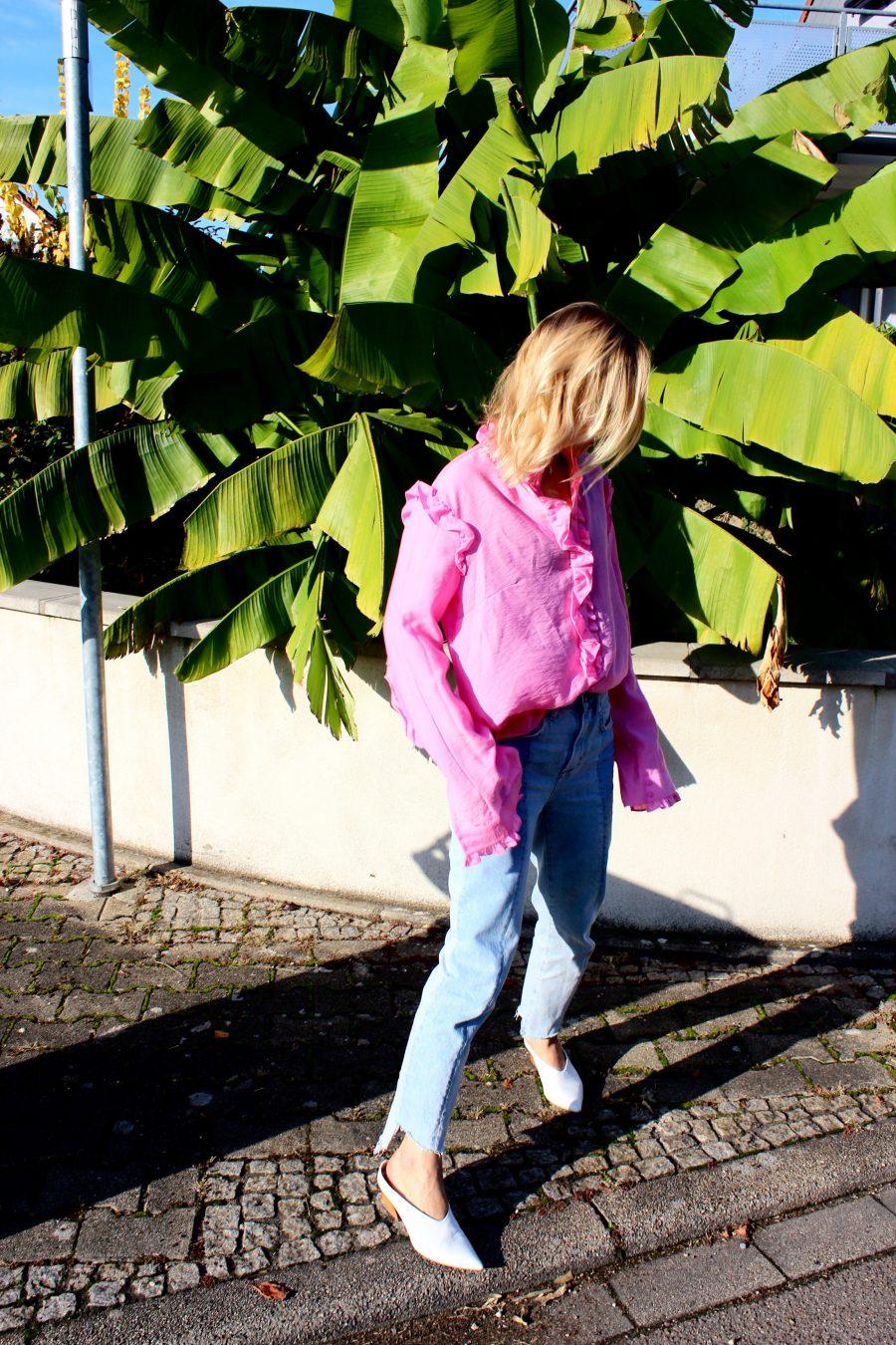 rosa bluse H&M trend