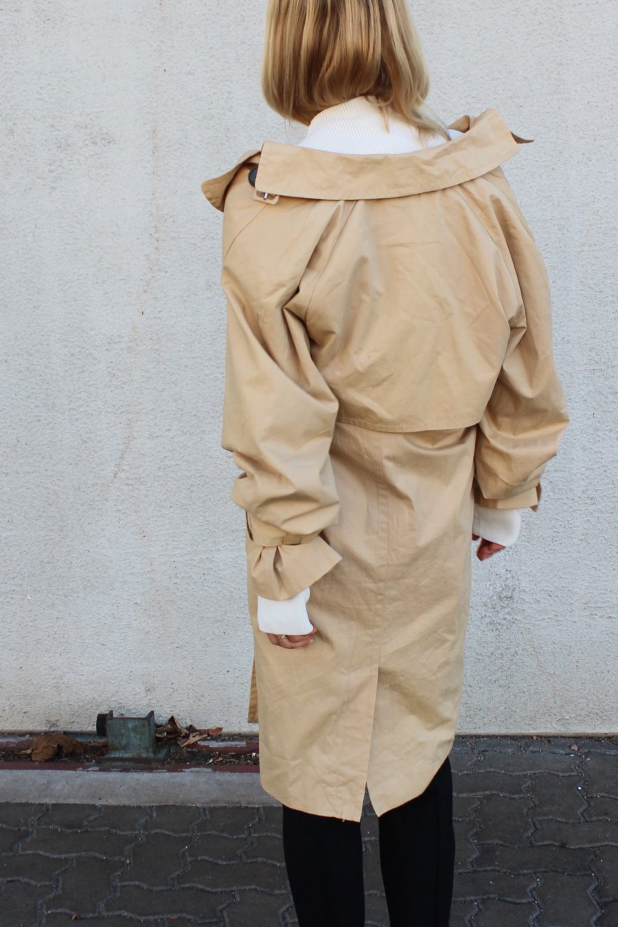trenchcoat beige edited the label