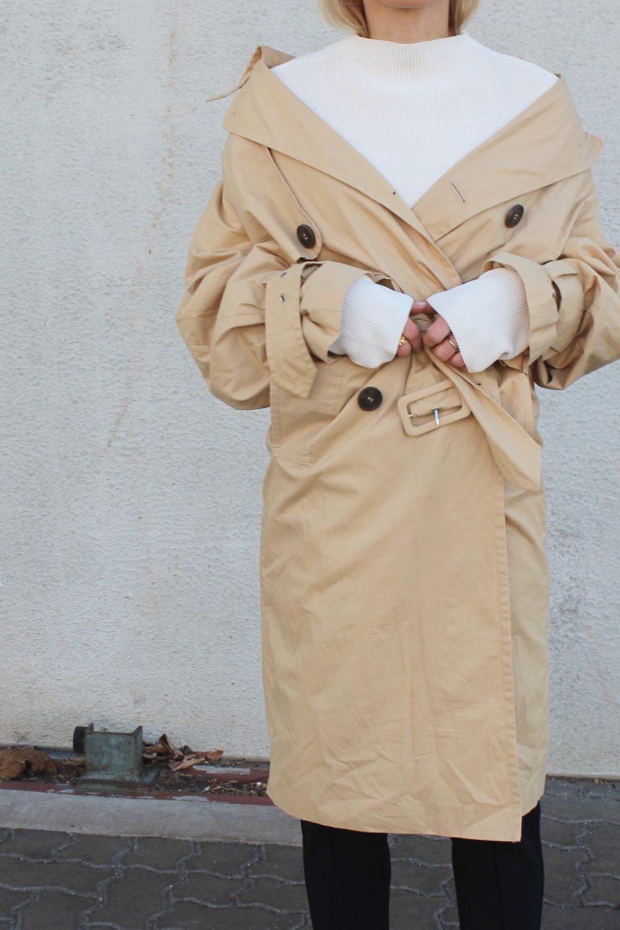 Balenciaga trenchcoat