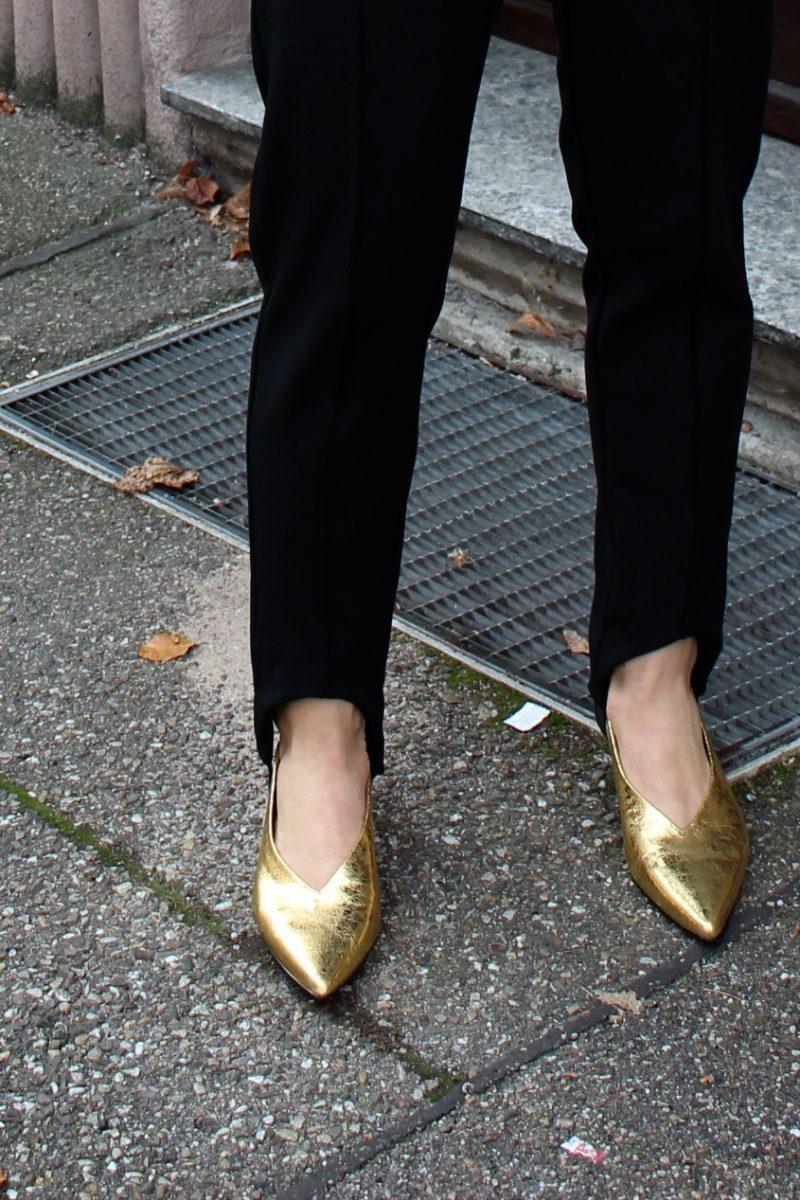 goldene Heels H&M