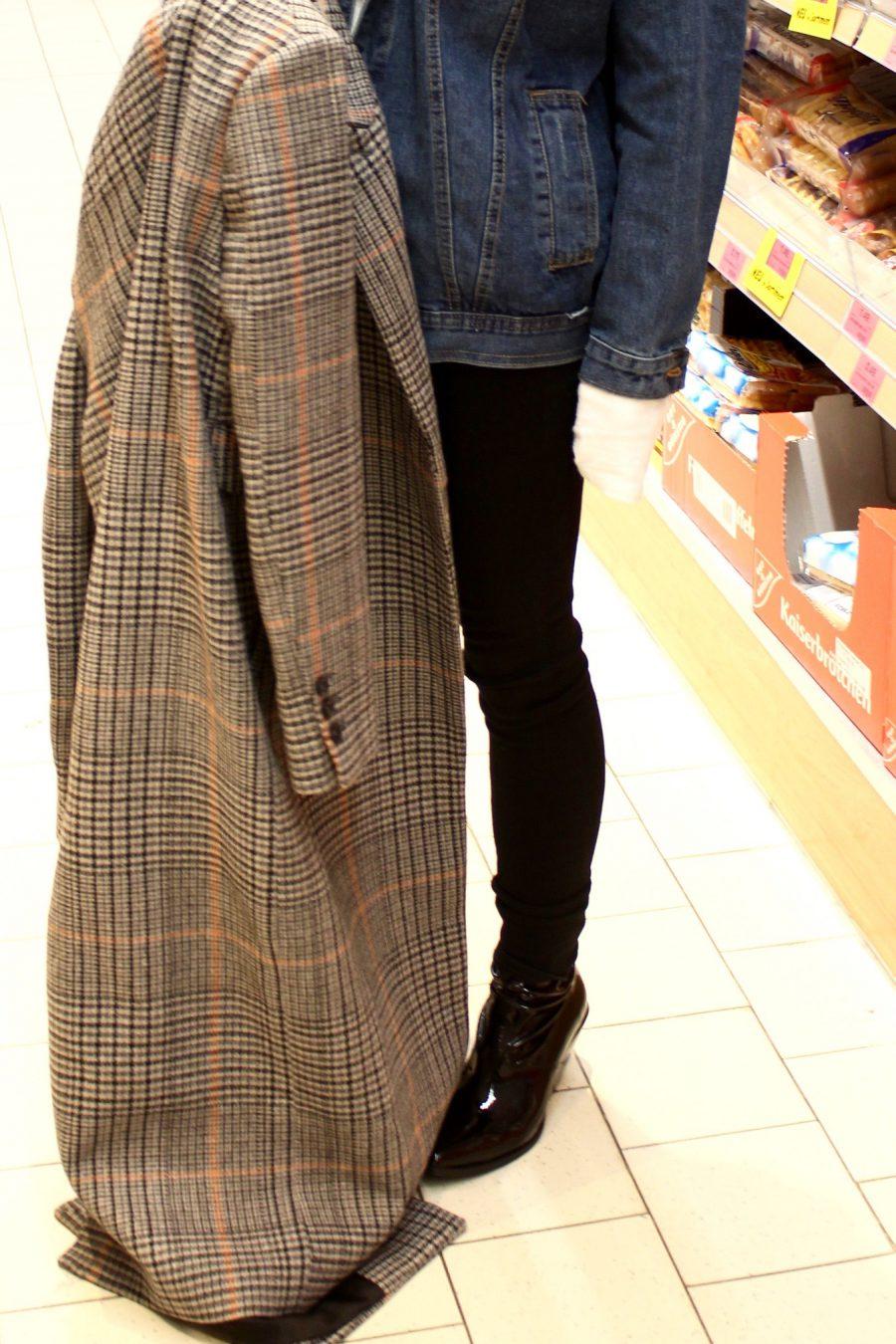 langer Mante H&M