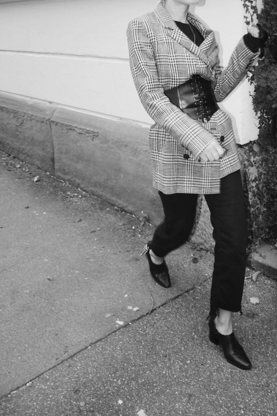 fashion blogger korsett trend
