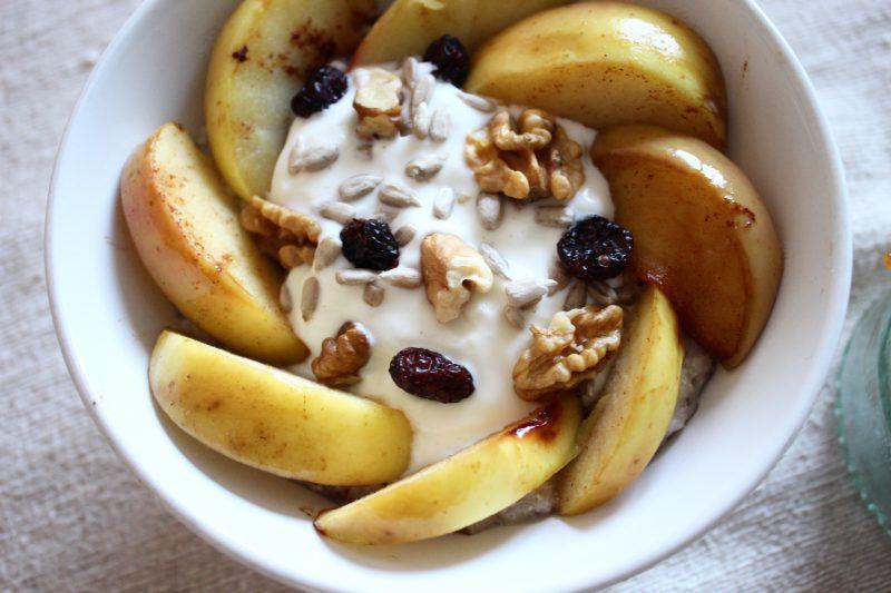 Wärmendes Apfel-Porridge |07.12.2016