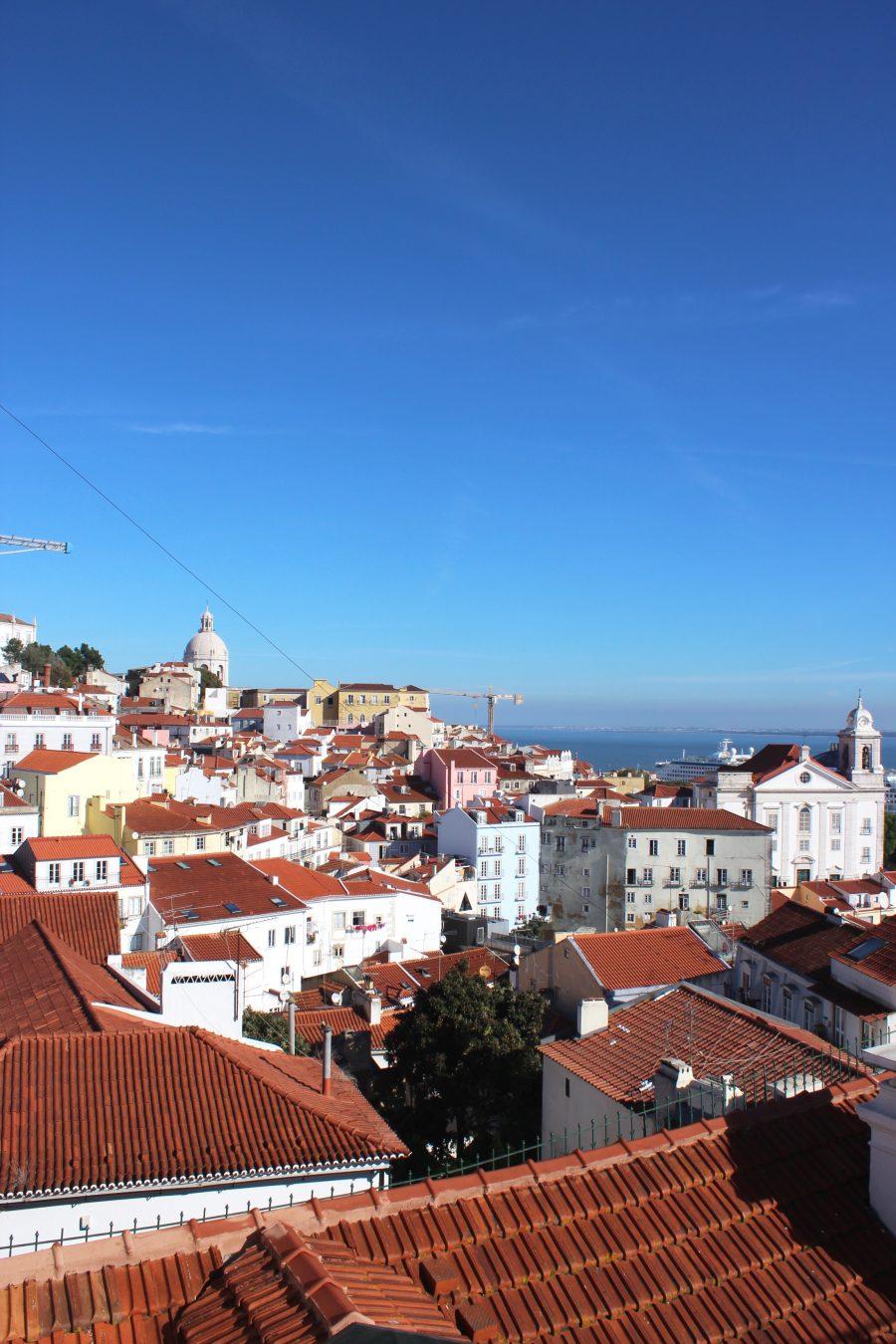 view lisboa portugal