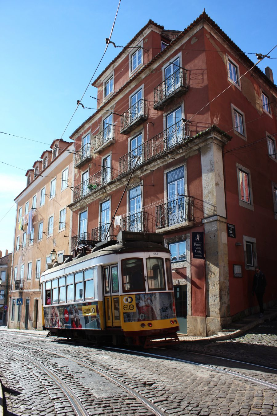Lissabon portugal tram 28
