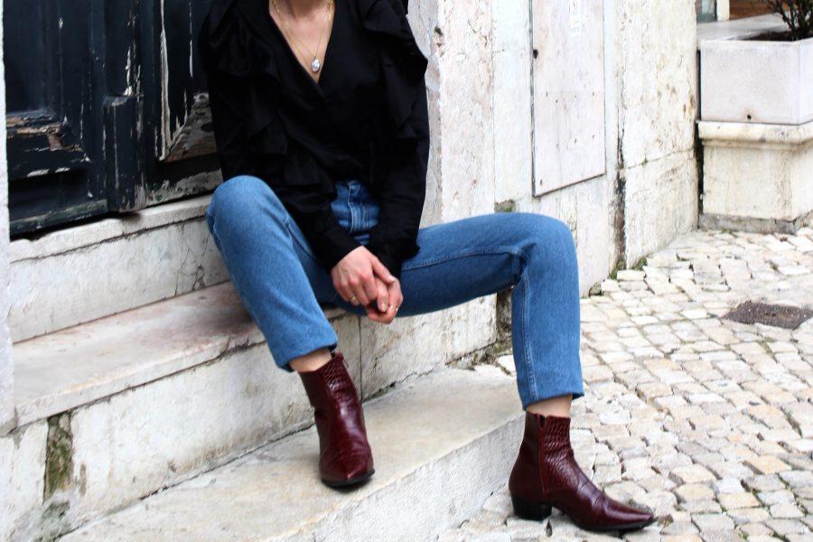 vintage jeans H&M