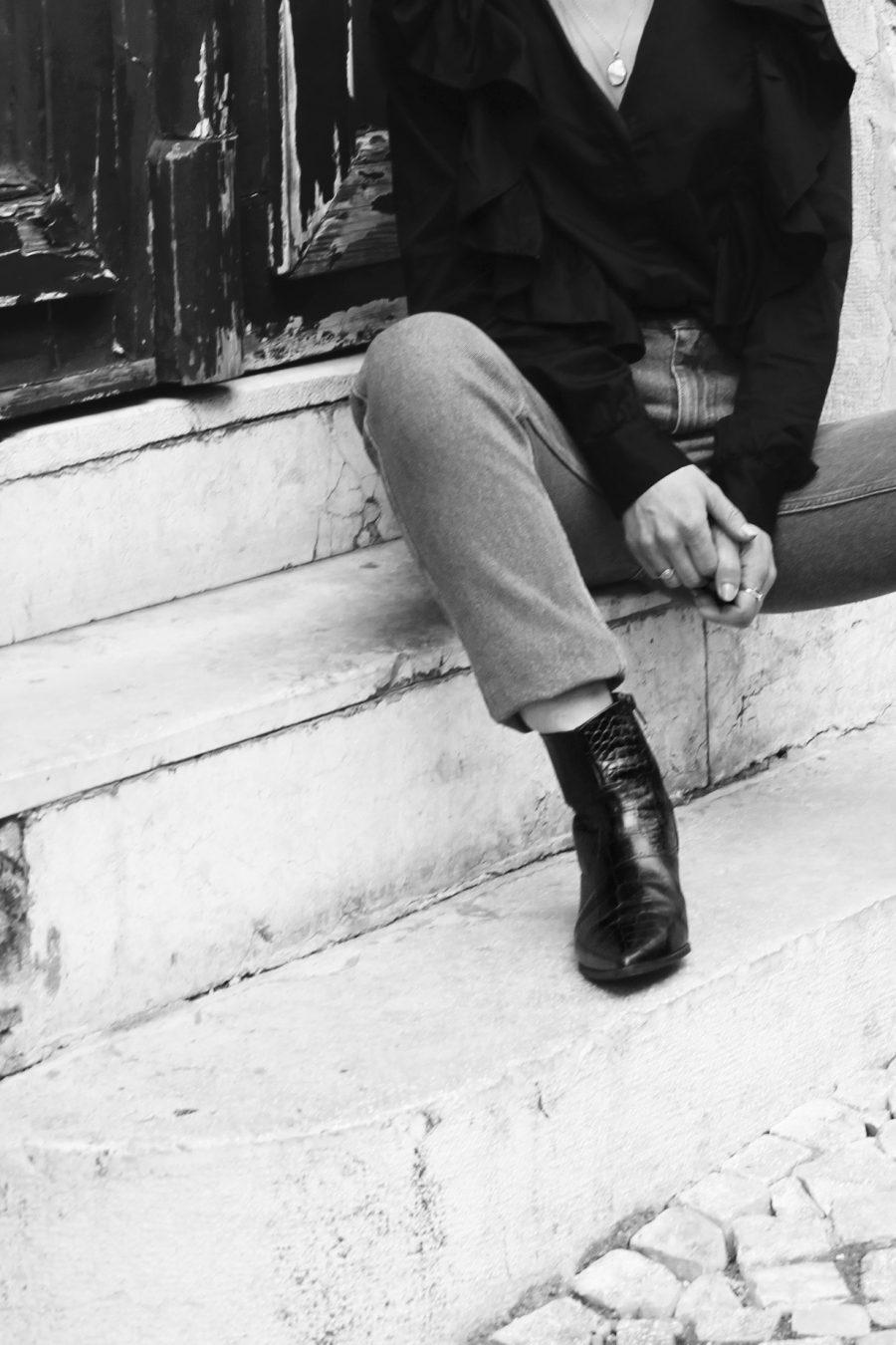 vintage jeans H&M trend