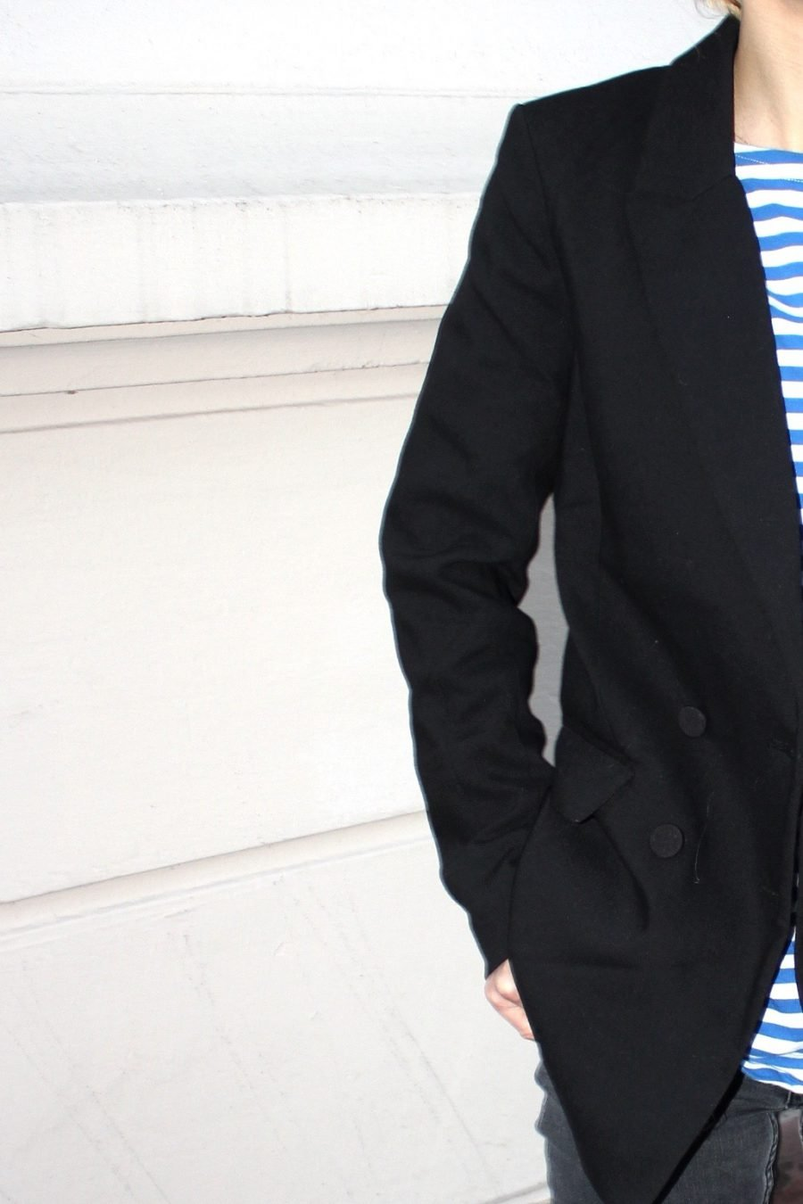 black blazer H&M trend
