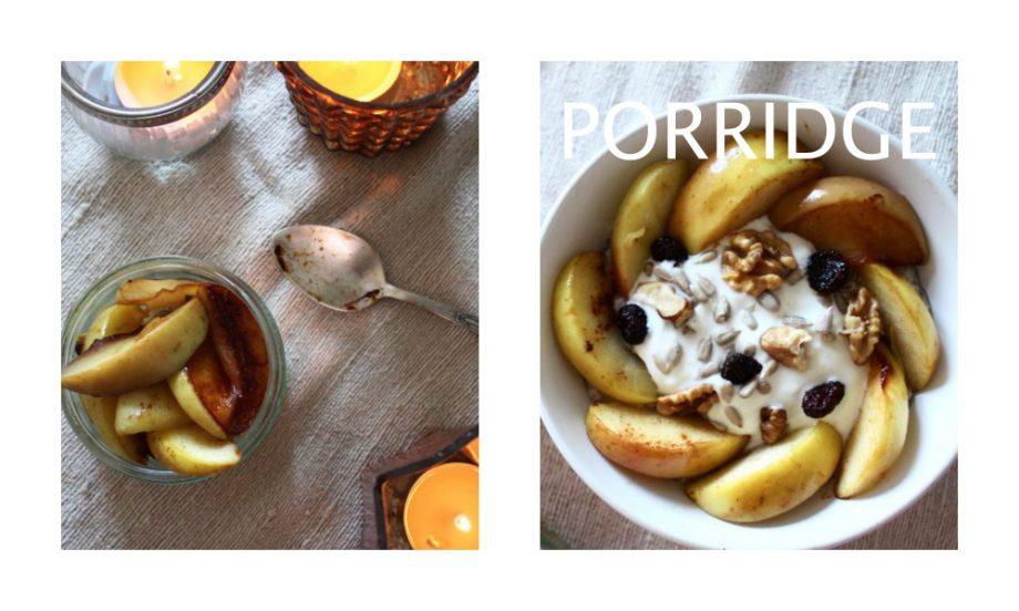 Wärmendes Apfel-Porridge  07.12.2016