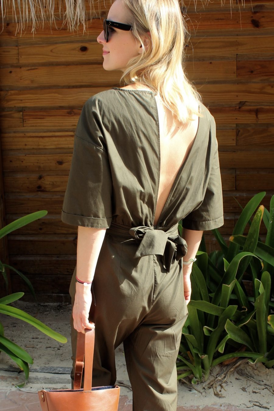 summer look mit jumpsuit zara