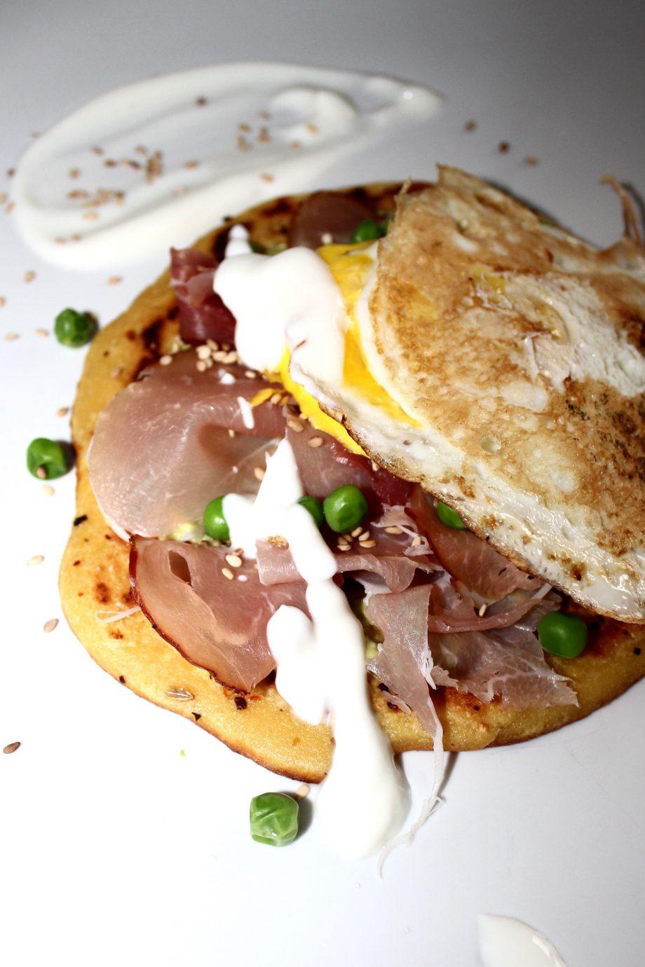 orientalische Kichererbsen-Pancakes |14.01.2017