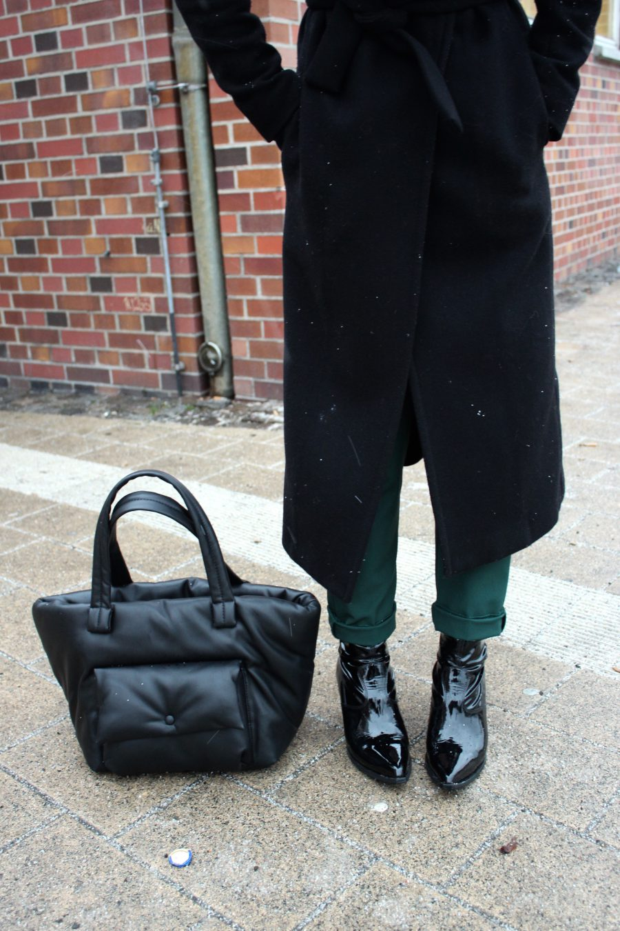 Vetements boots H&M trend schwarz