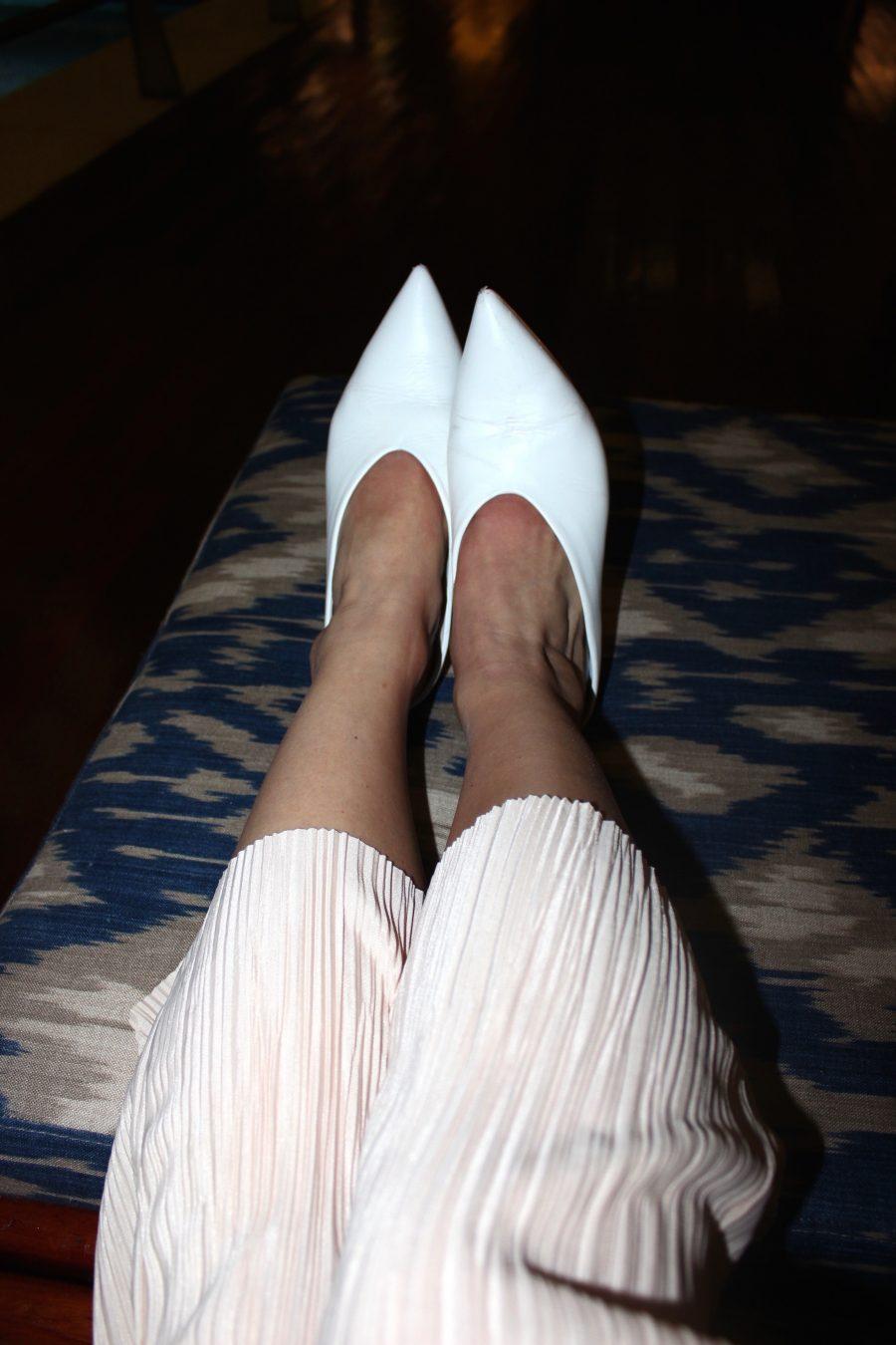 weiße Mulles Zara