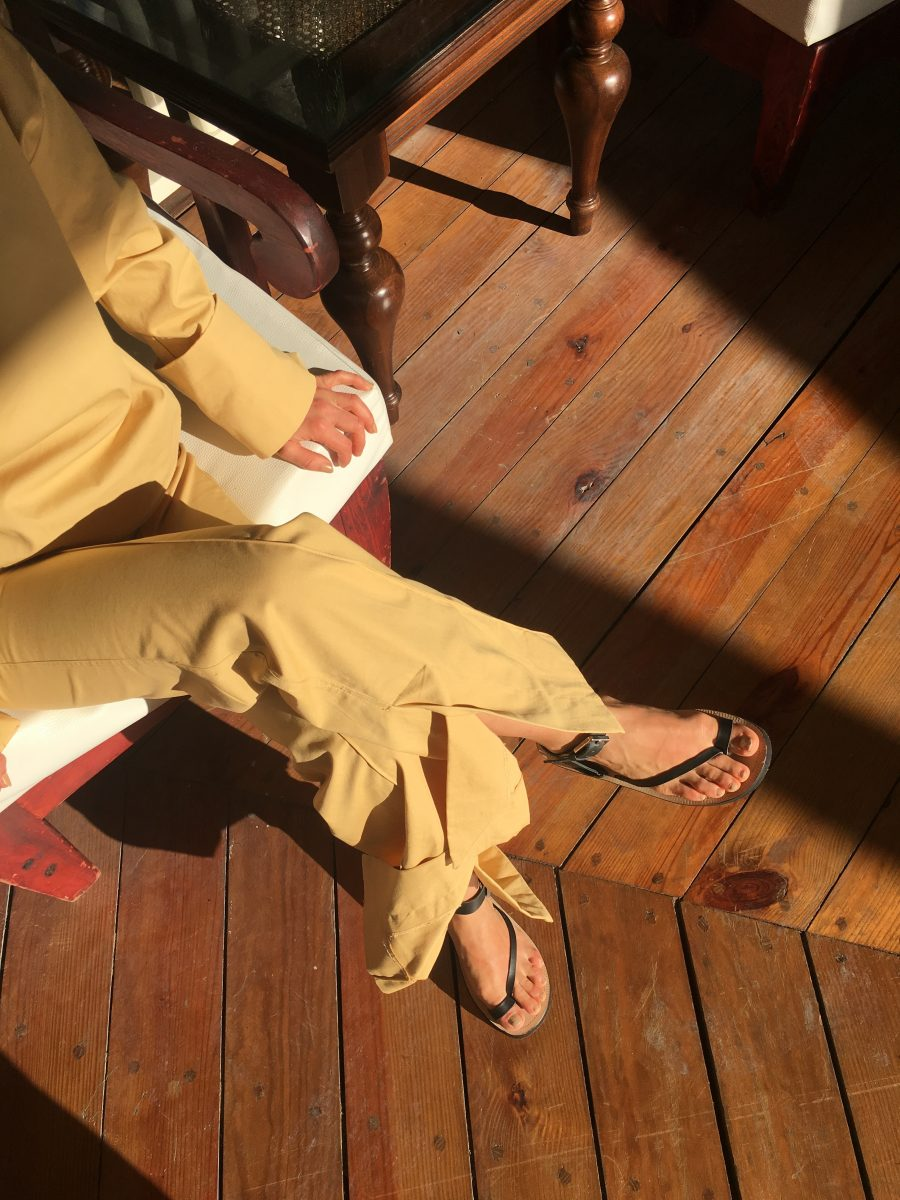 Céline Pants yellow