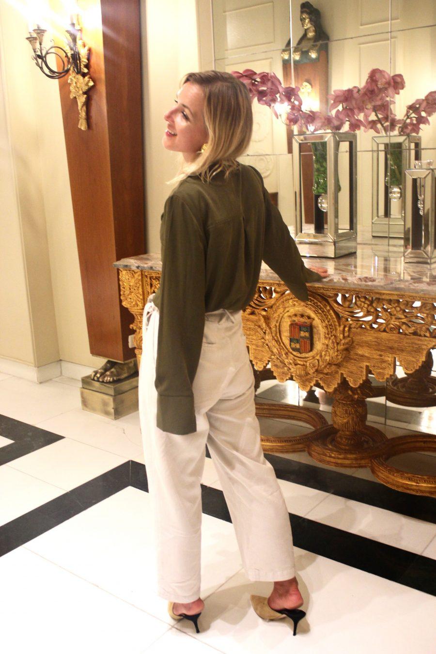 safari look fashion blogger