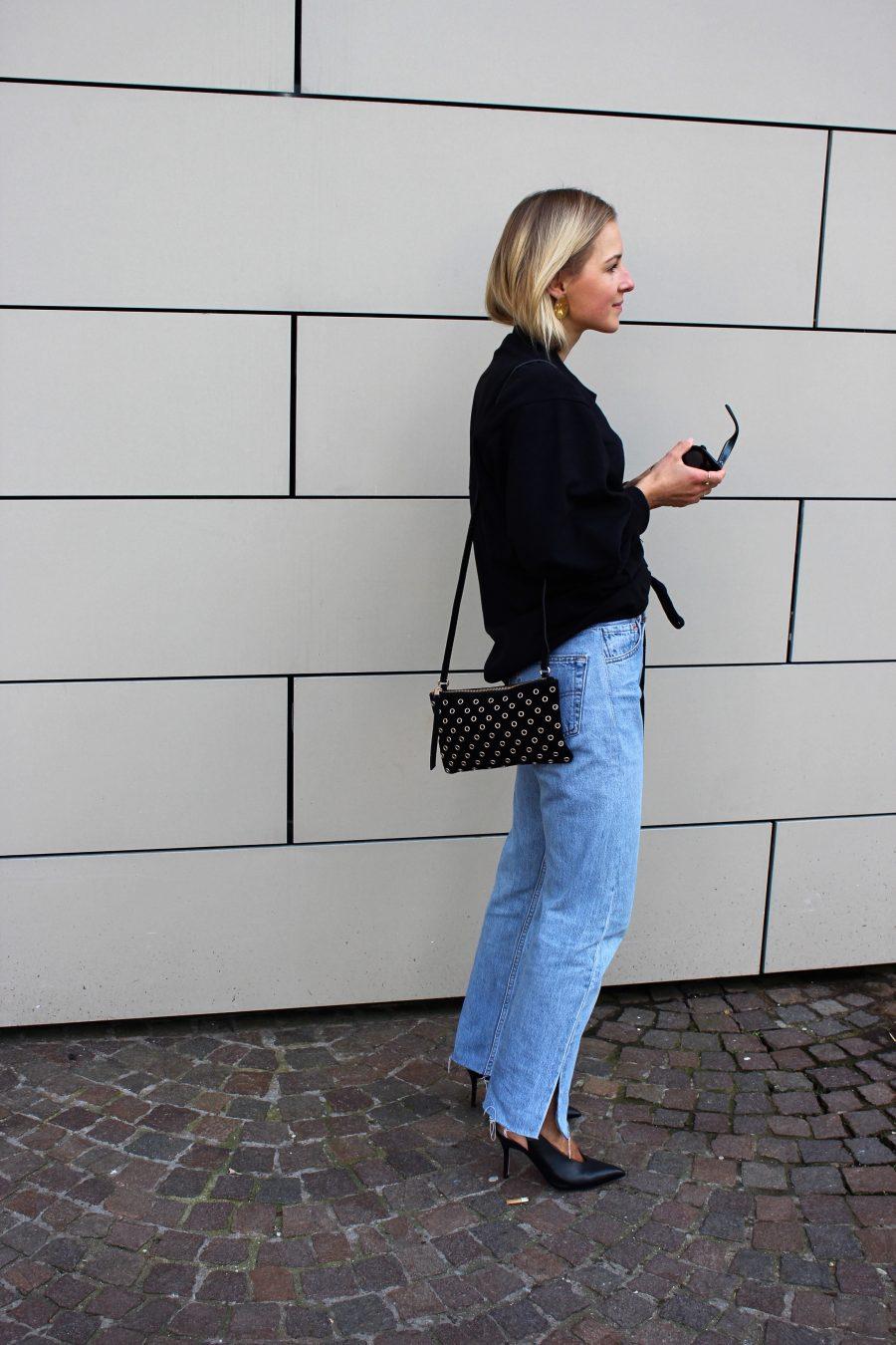 Sweatshirt mit Kordelzug H&M