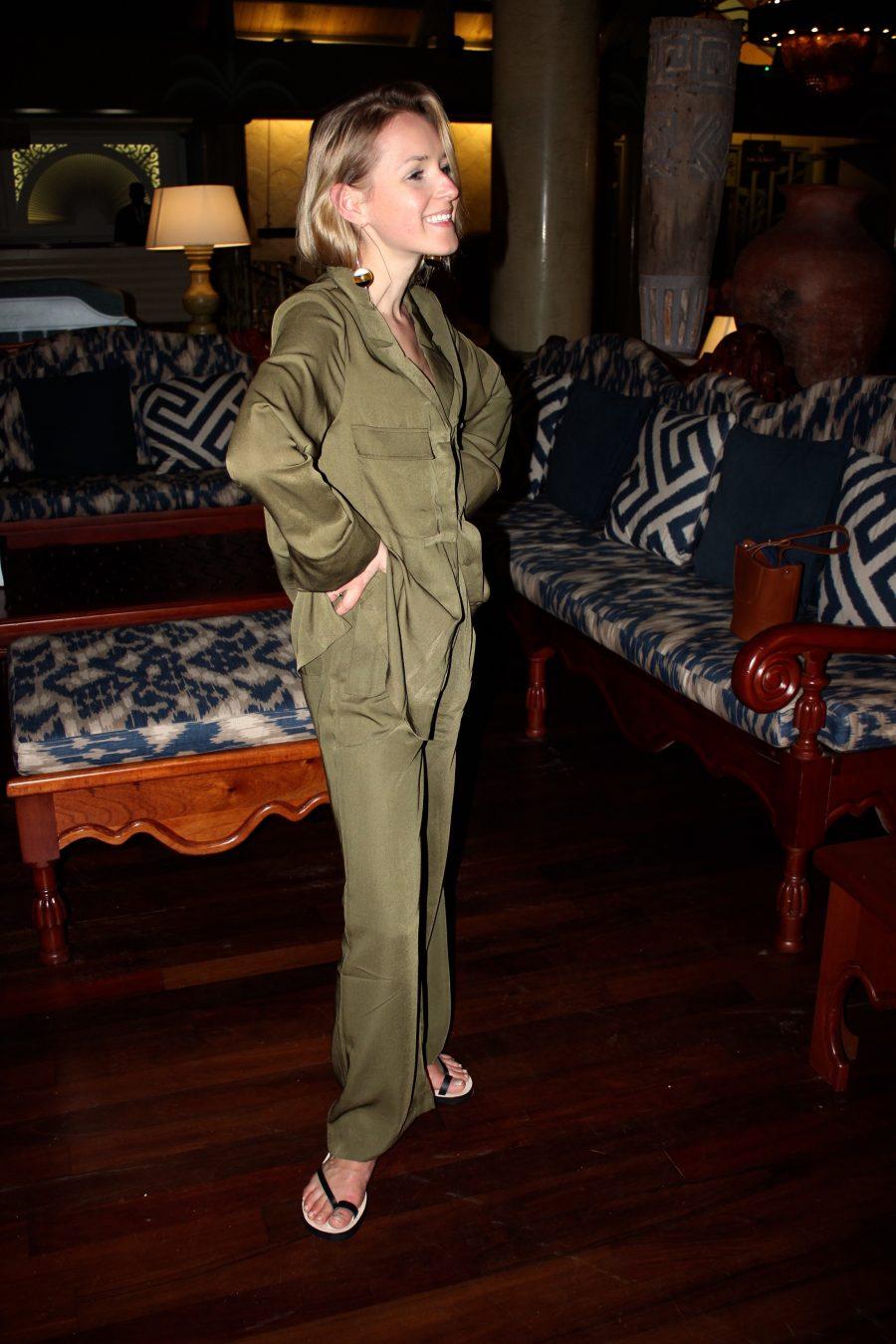green jumpsuit asos