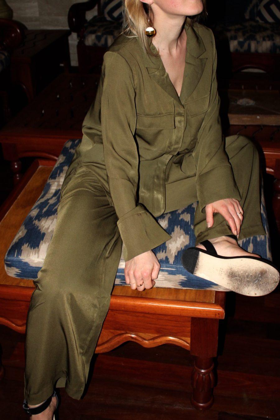 zara studio sandalen schwarz