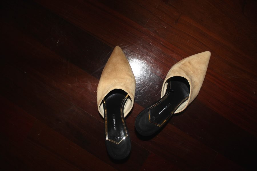 heels zara chanel