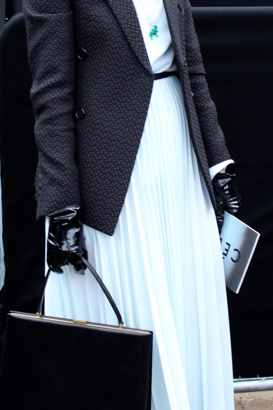 Natasha Goldenberg Streetstyle Paris Fashion Week 2017 FW
