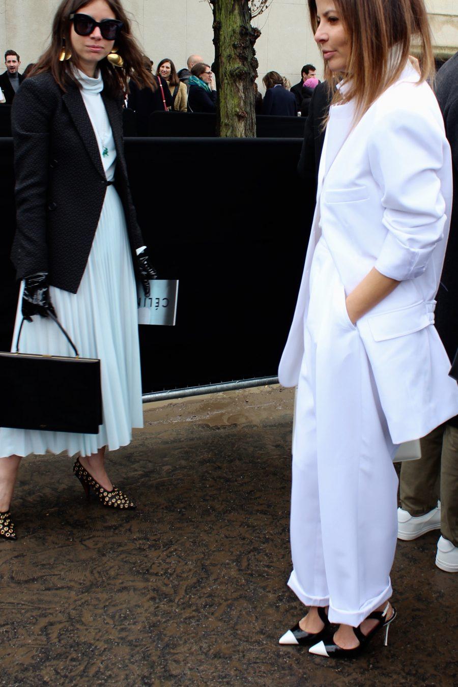 Streets style Paris Fashion Week FW/2017 Natasha Goldenberg