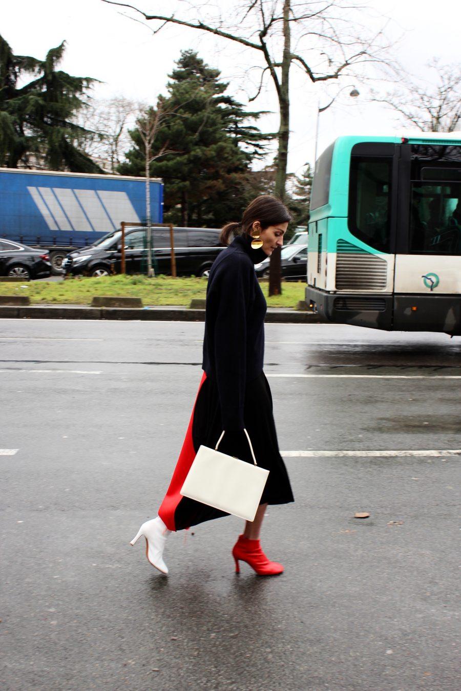 Irina Linovich Street Style 2017 Paris Fashion Week