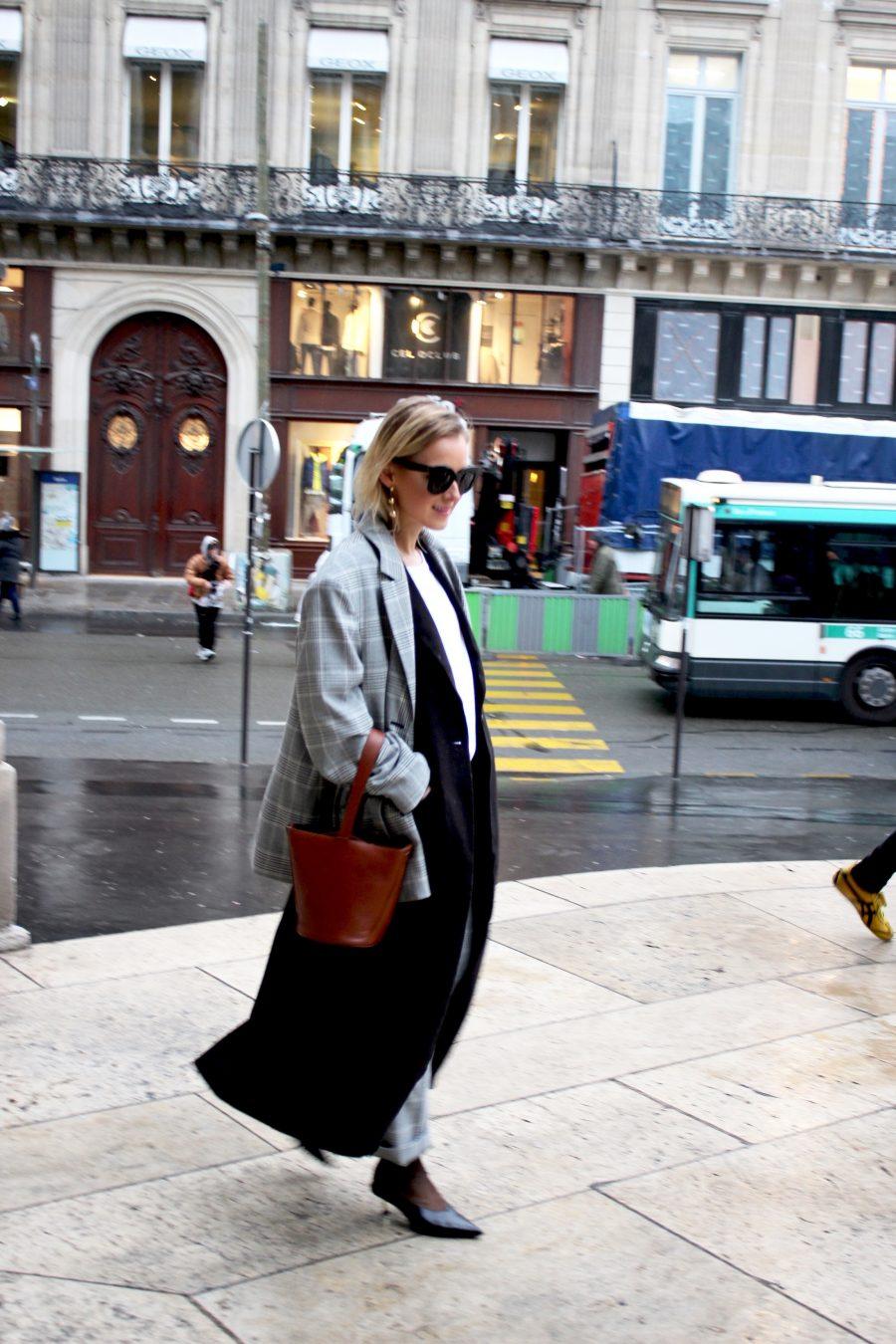 streetstyle paris fashion week 2017 march