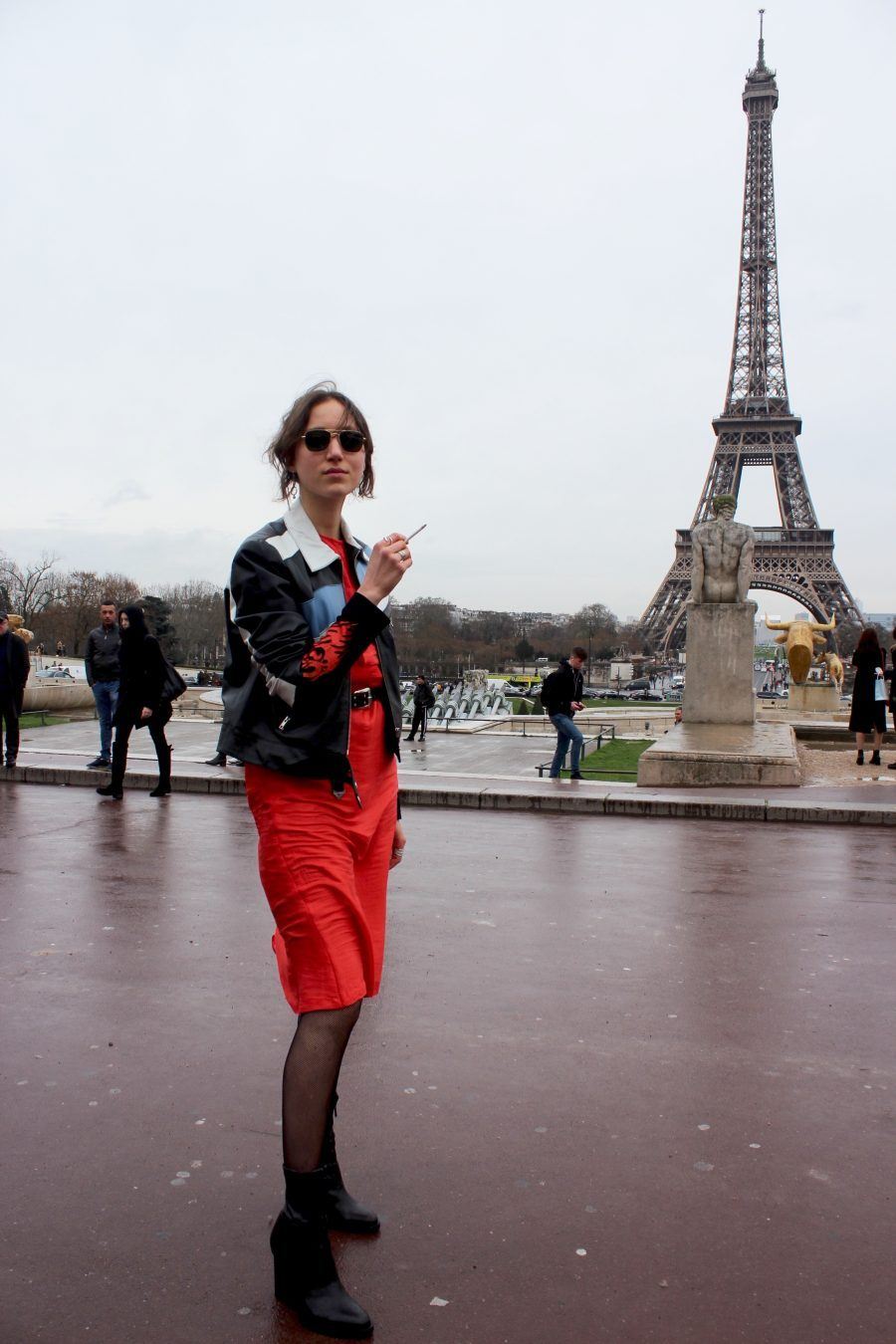 Paris Fashion Week AH17 Street Style