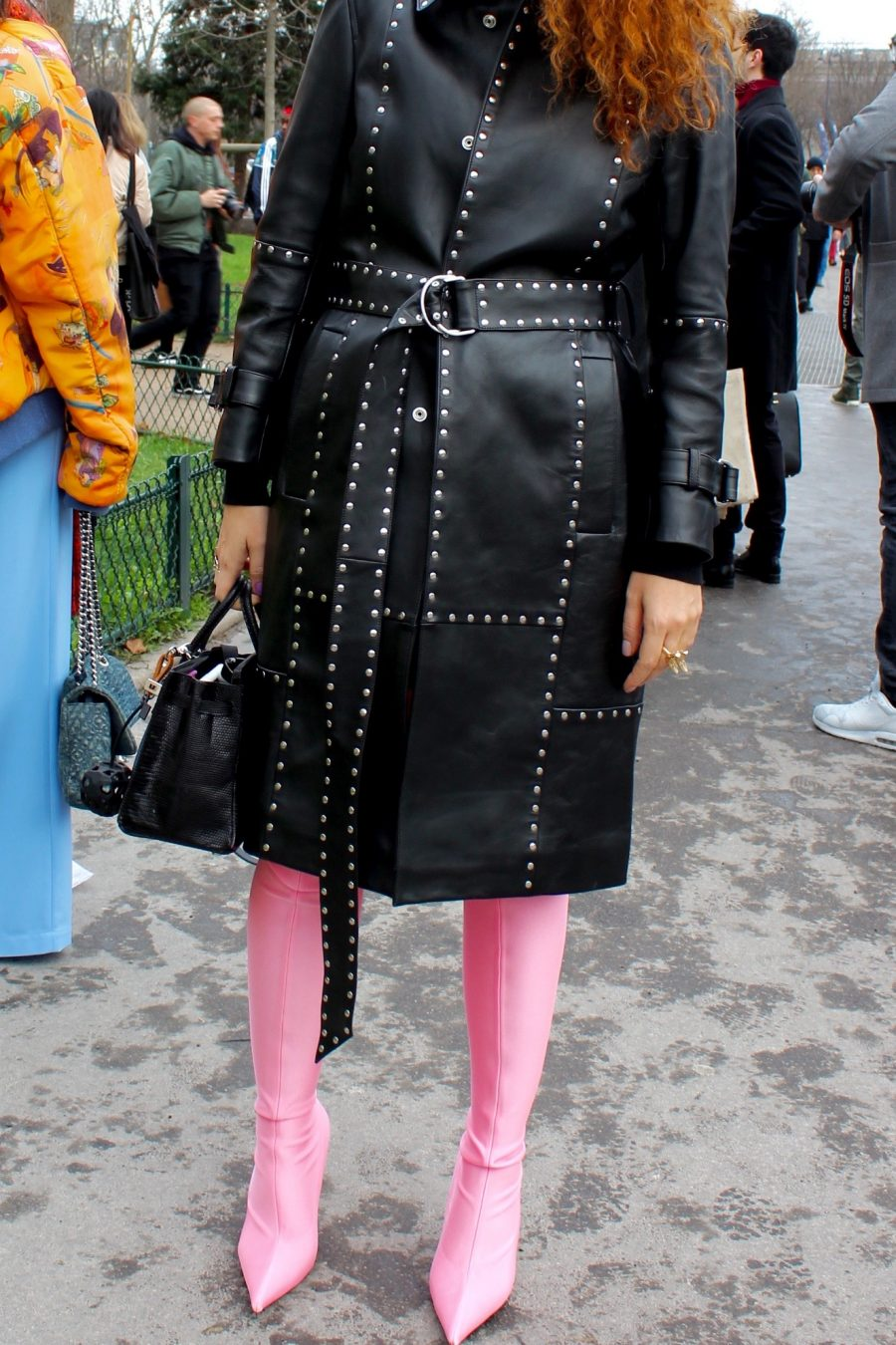 Paris Fashion Week Street Style Looks AH17 Balenciaga Shoes