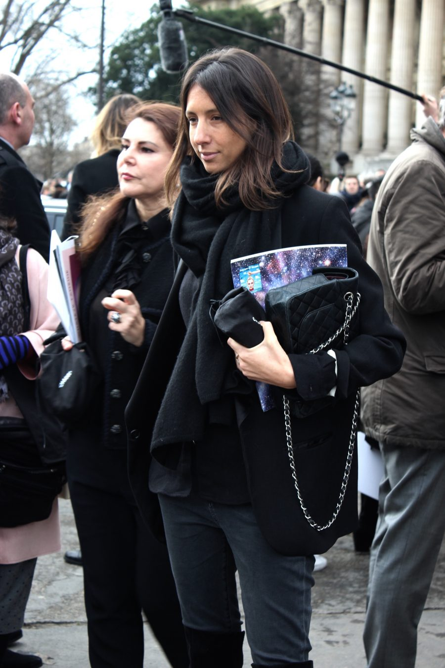 Paris Fashion Week Street Style Looks AH17 after chanel