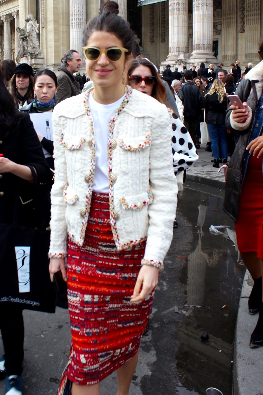 Paris Fashion Week Street Style Looks AH17 Leandra Medine