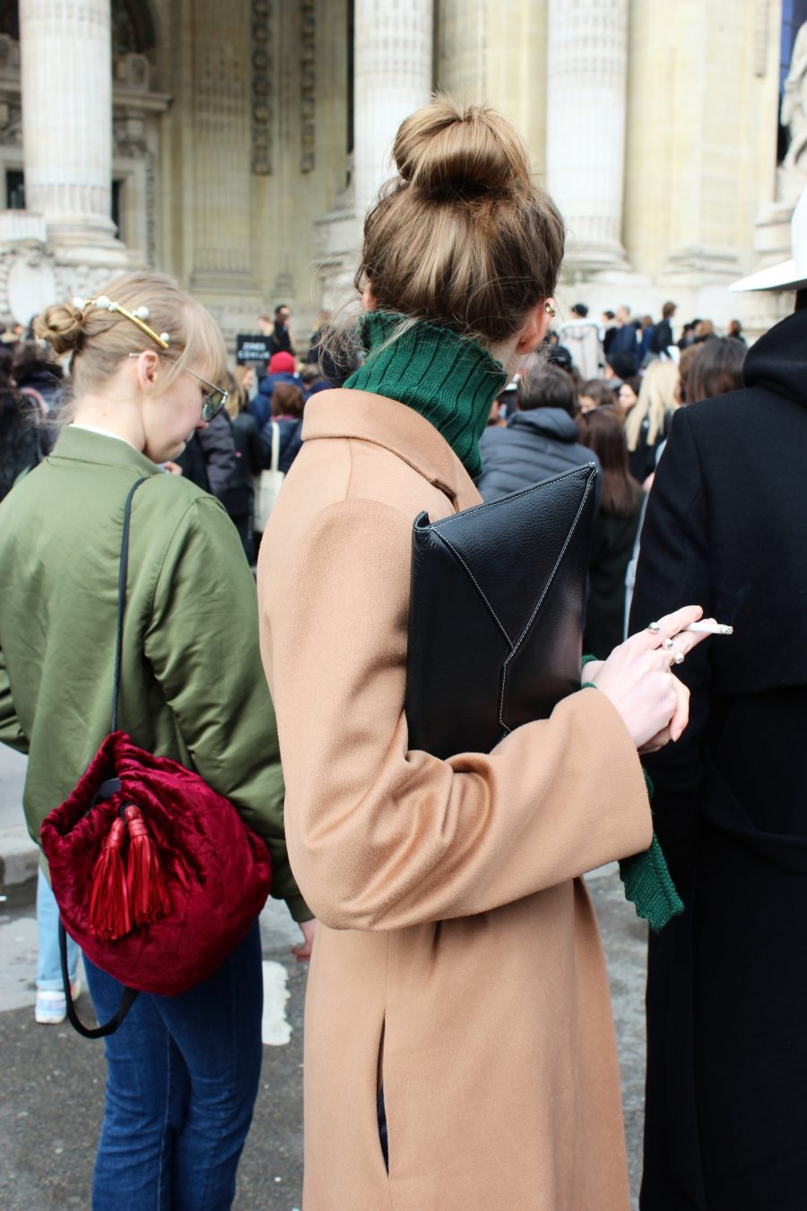 Paris Fashion Week Street Style Looks AH17 after chanel grand pallais