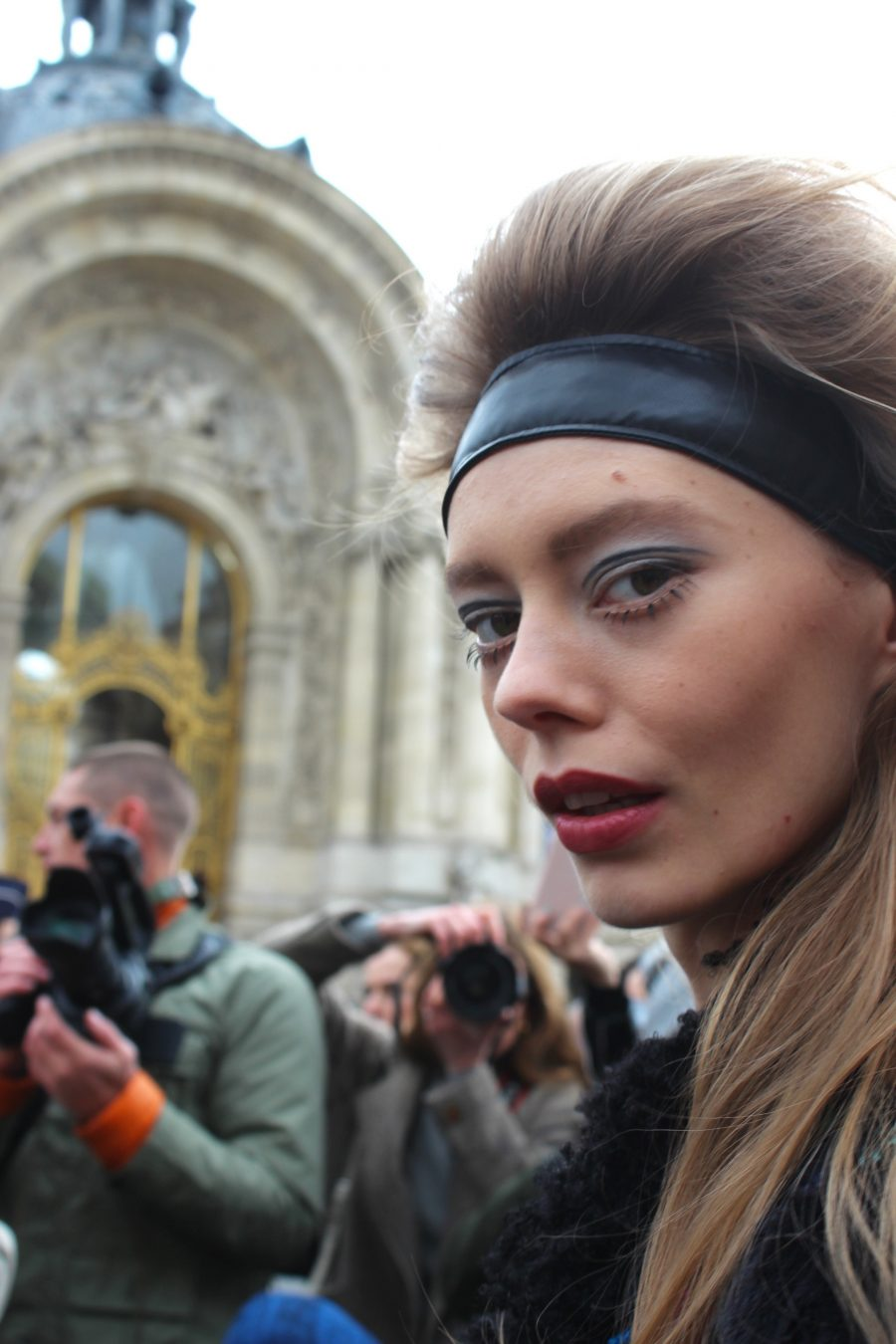Paris Fashion Week Street Style Looks AH17 chanel model