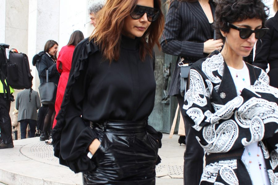 Paris Fashion Week Street Style Looks AH17 Ellery Chriistine Centenera