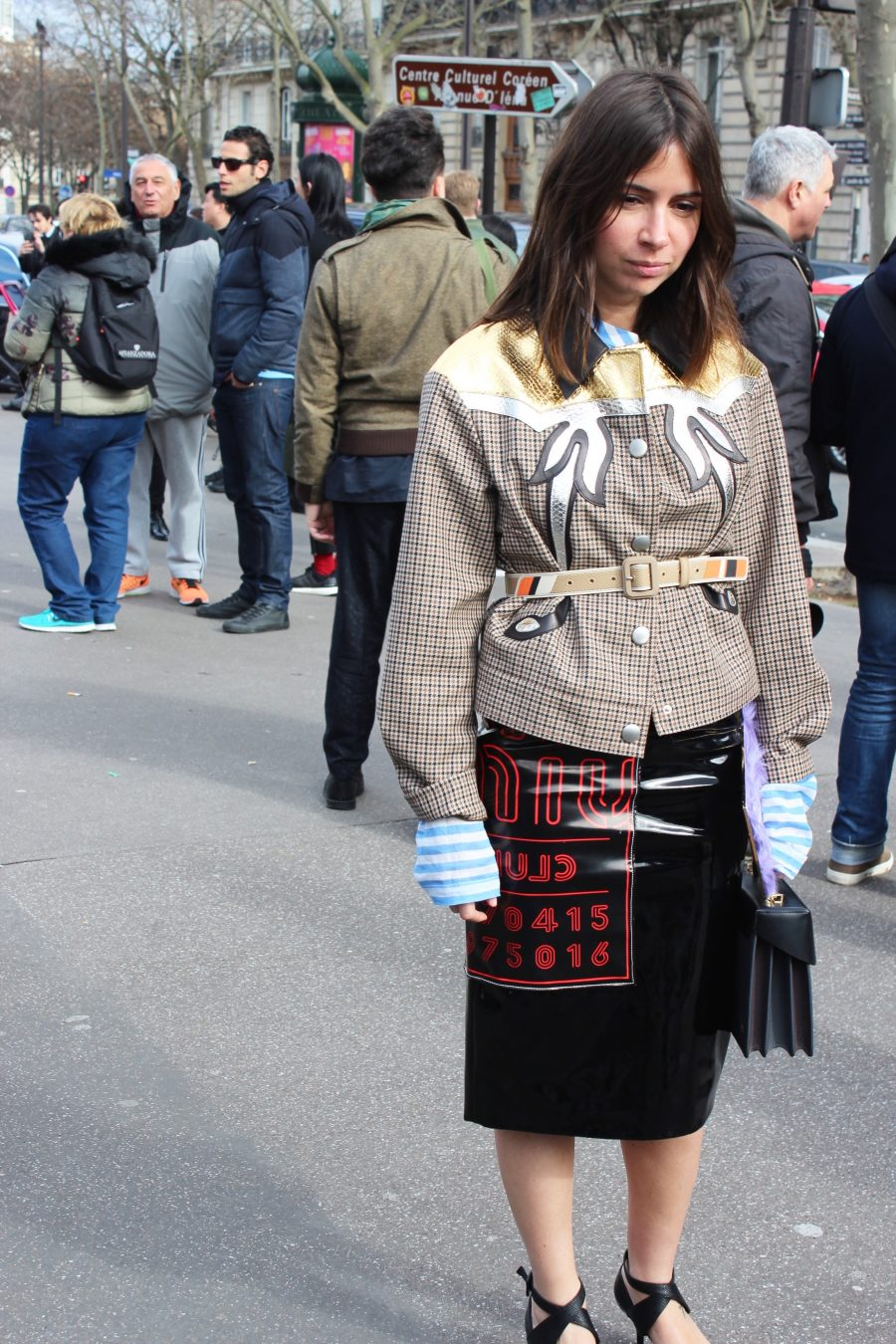 Paris Fashion Week Street Style Looks AH17 Miu Miu Natasha Goldenberg