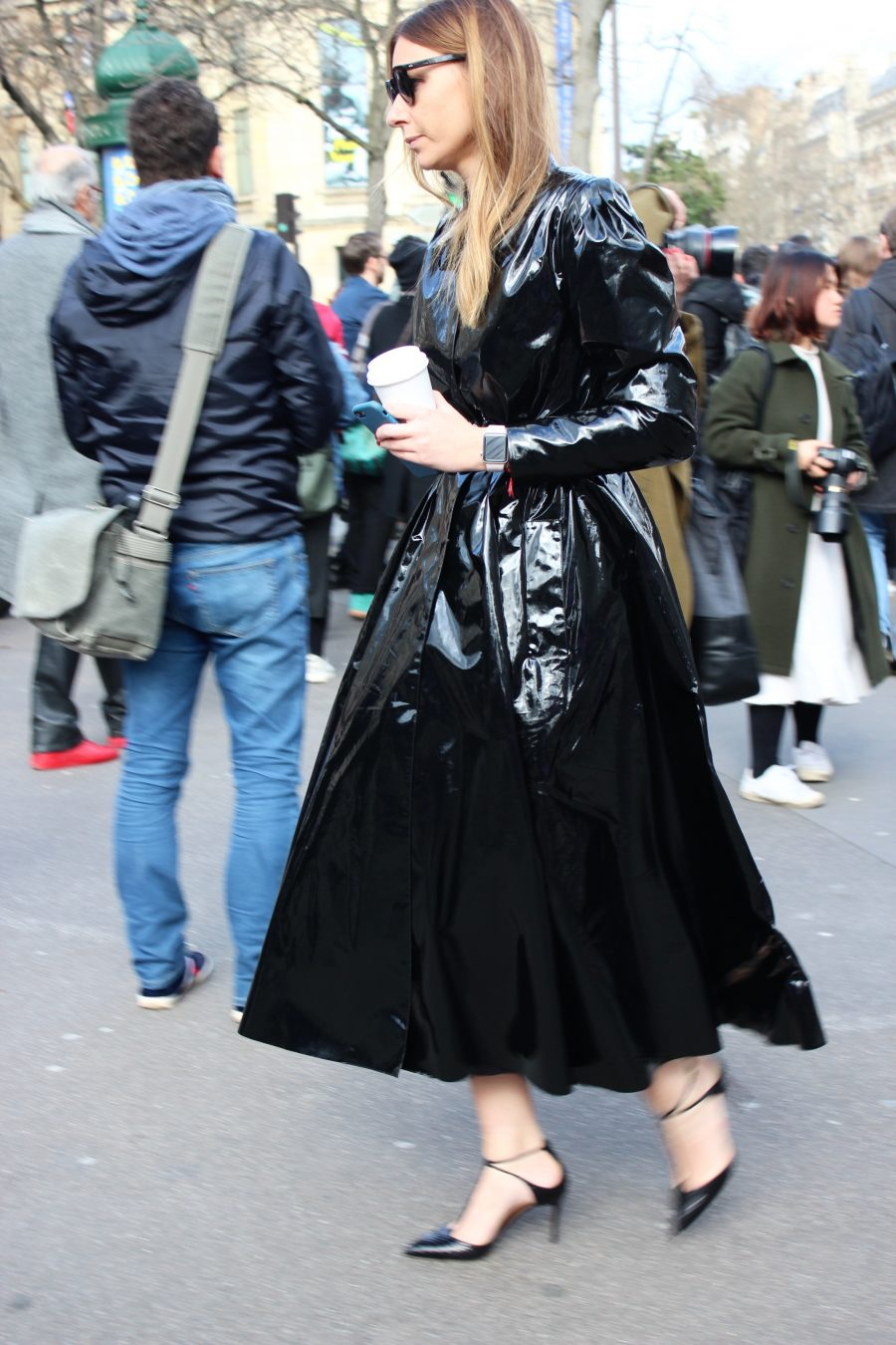 Paris Fashion Week Street Style Looks AH17 Miu Miu