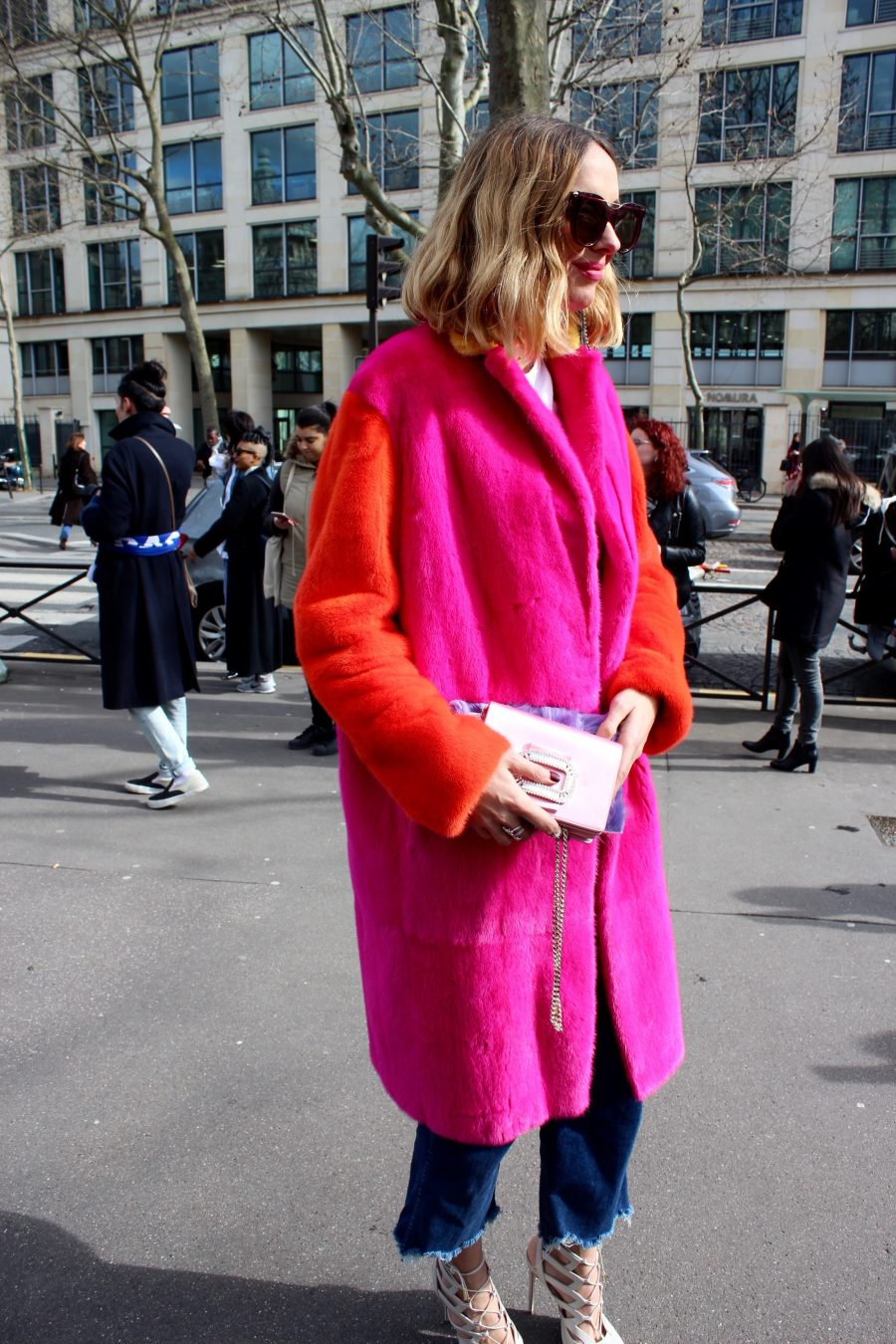 Paris Fashion Week Street Style Looks AH17 candela Miu Miu