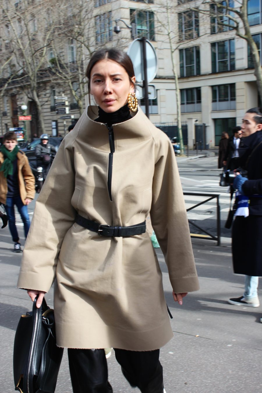 Paris Fashion Week Street Style Looks AH17 after Miu Miu