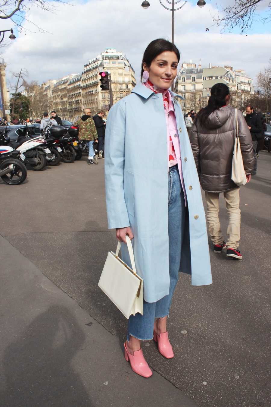Paris Fashion Week Street Style Looks AH17 Irina Linovich