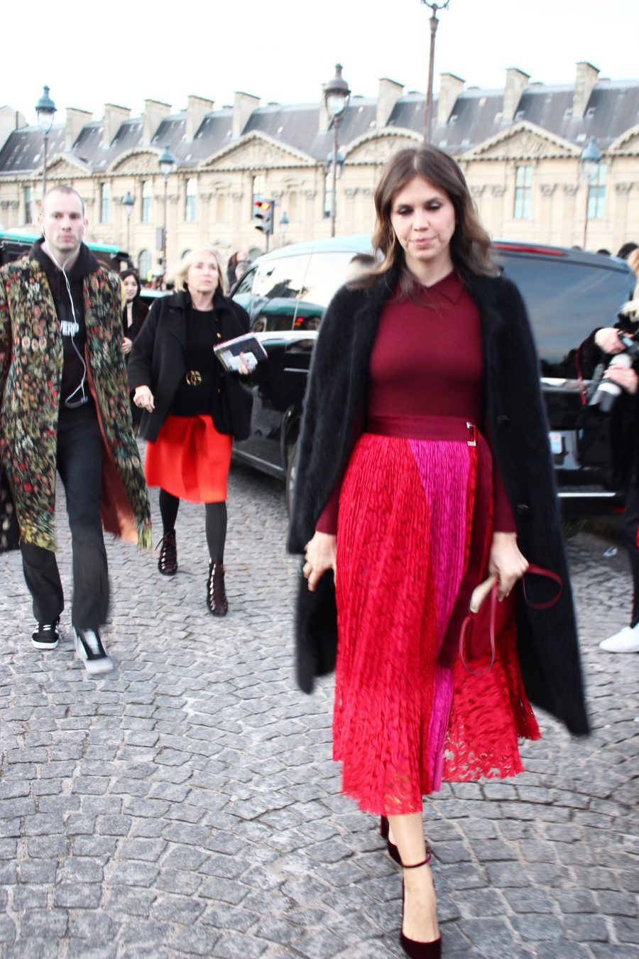 Paris Fashion Week Street Style Looks AH17 dasha zhukova