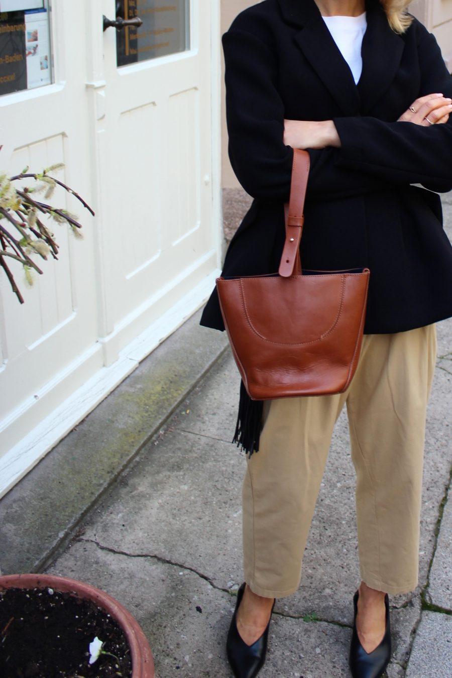 kleine tascha Zara braun
