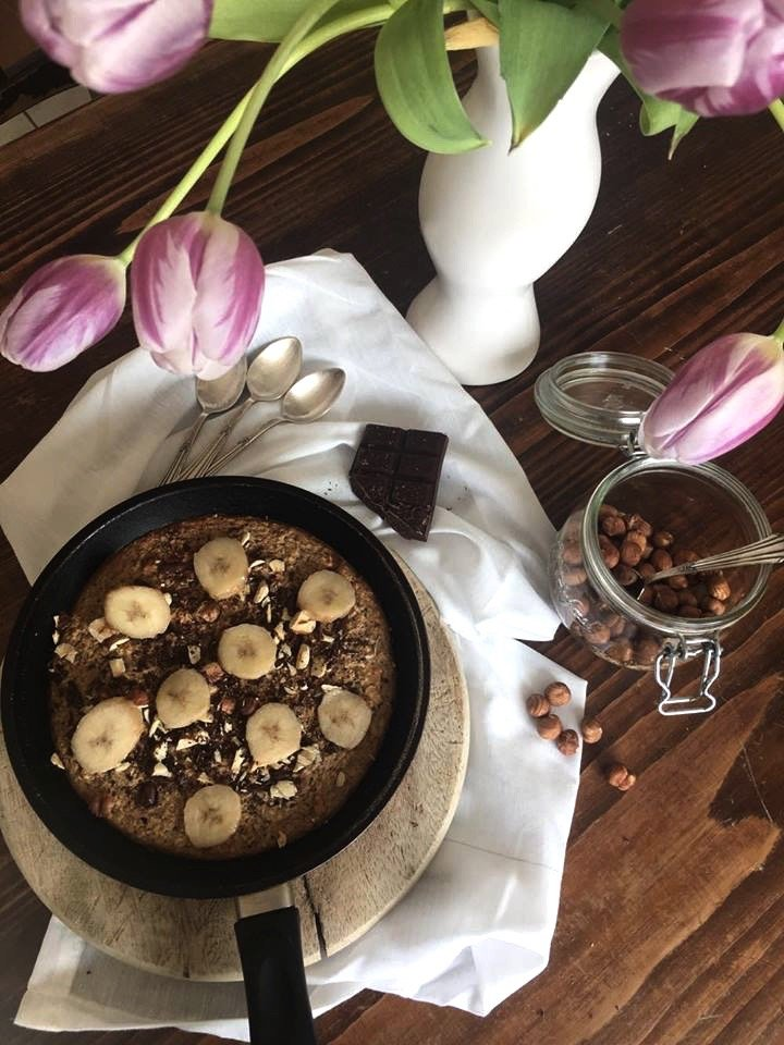 Chocolate & Banana baked