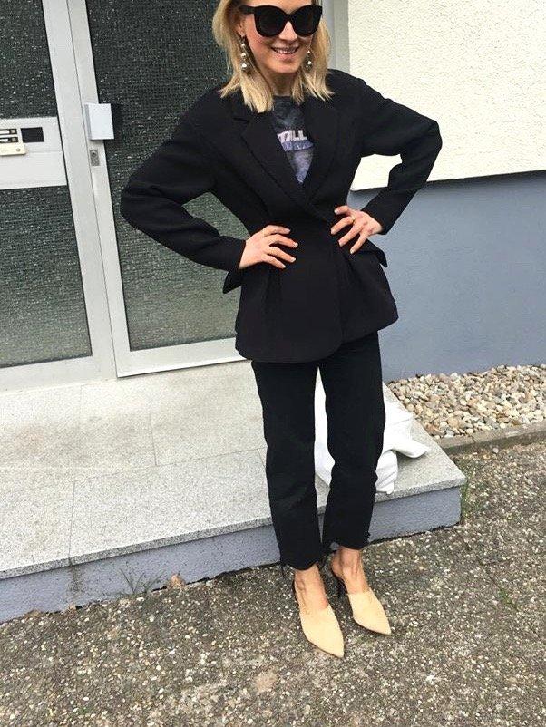 figurbetonter Blazer H&M trend